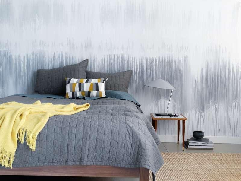Effetto acquerello grigio