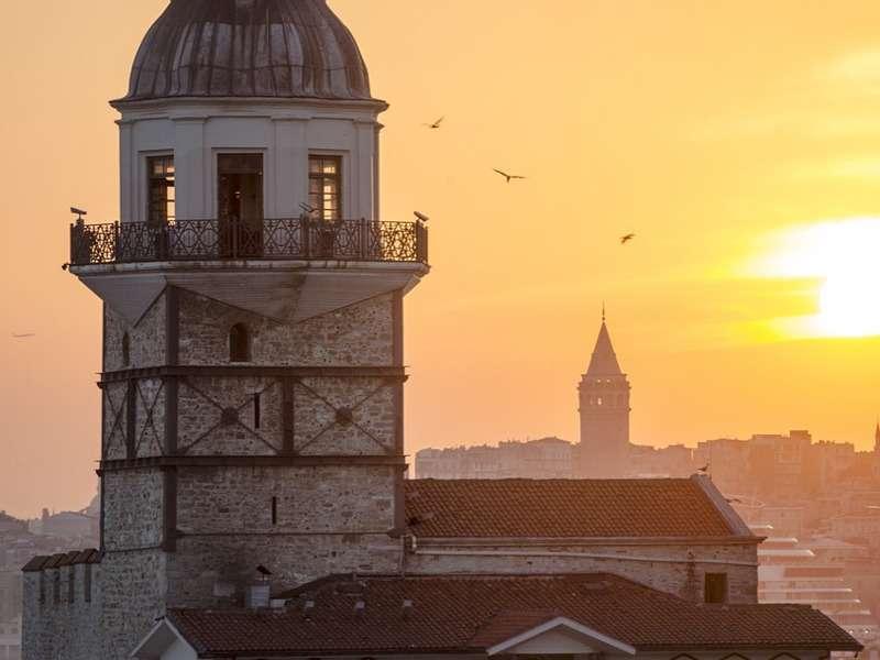 Istanbul tramonto