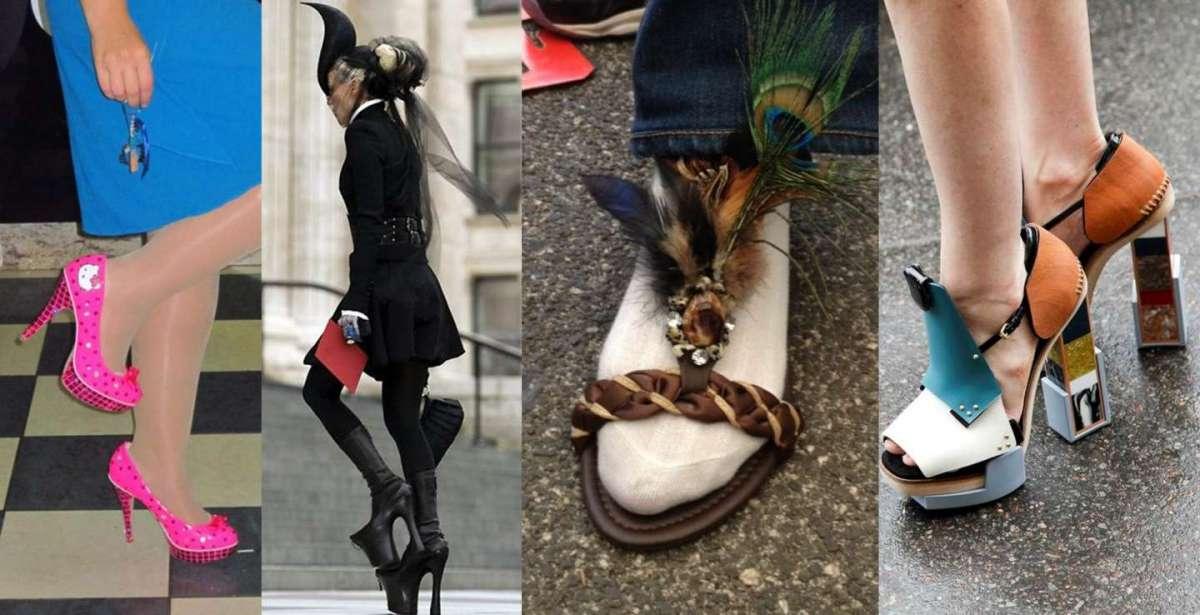 Le scarpe più brutte da non indossare mai [FOTO]