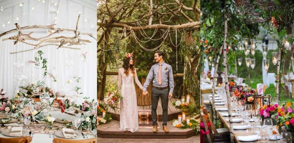 Matrimonio boho-chic: idee per l'allestimento e l'organizzazione [FOTO]