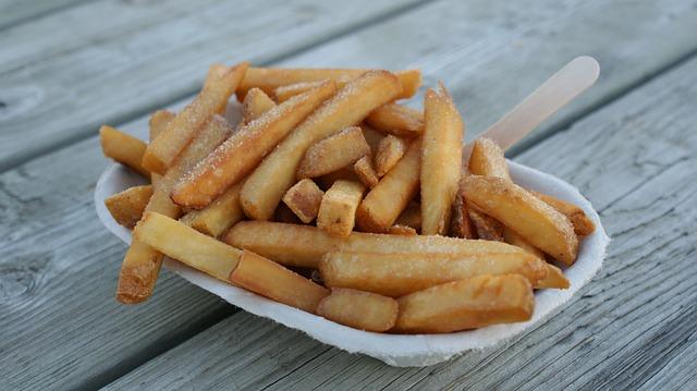 patatine fritte aperitivo