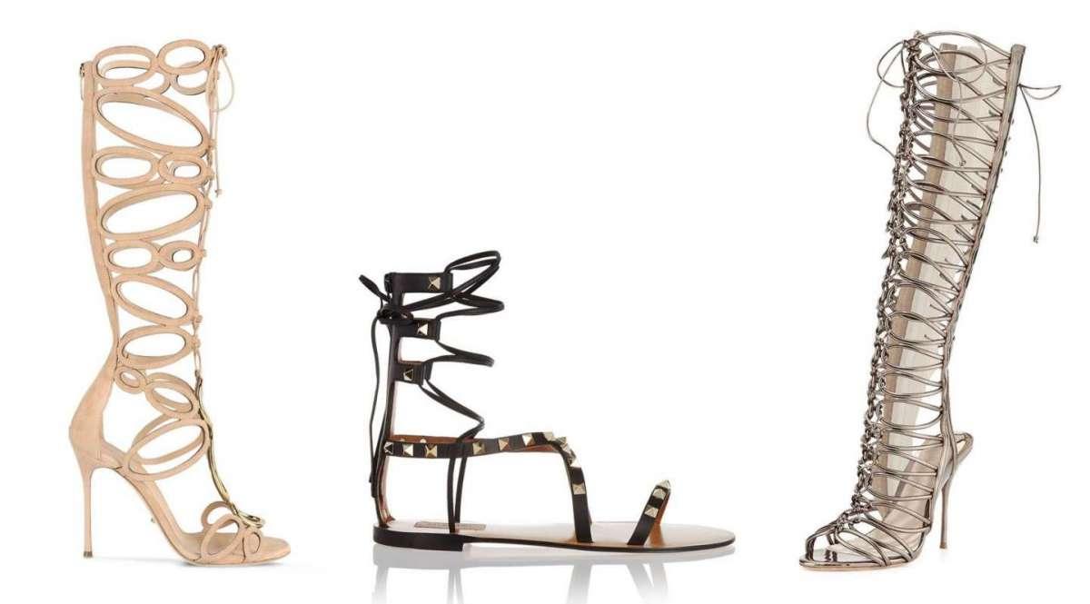 Sandali alla schiava alti e bassi: i modelli più fashion [FOTO]
