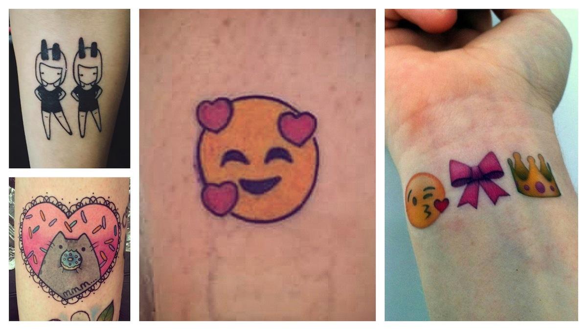 Quale tatuaggio emoji preferisci?