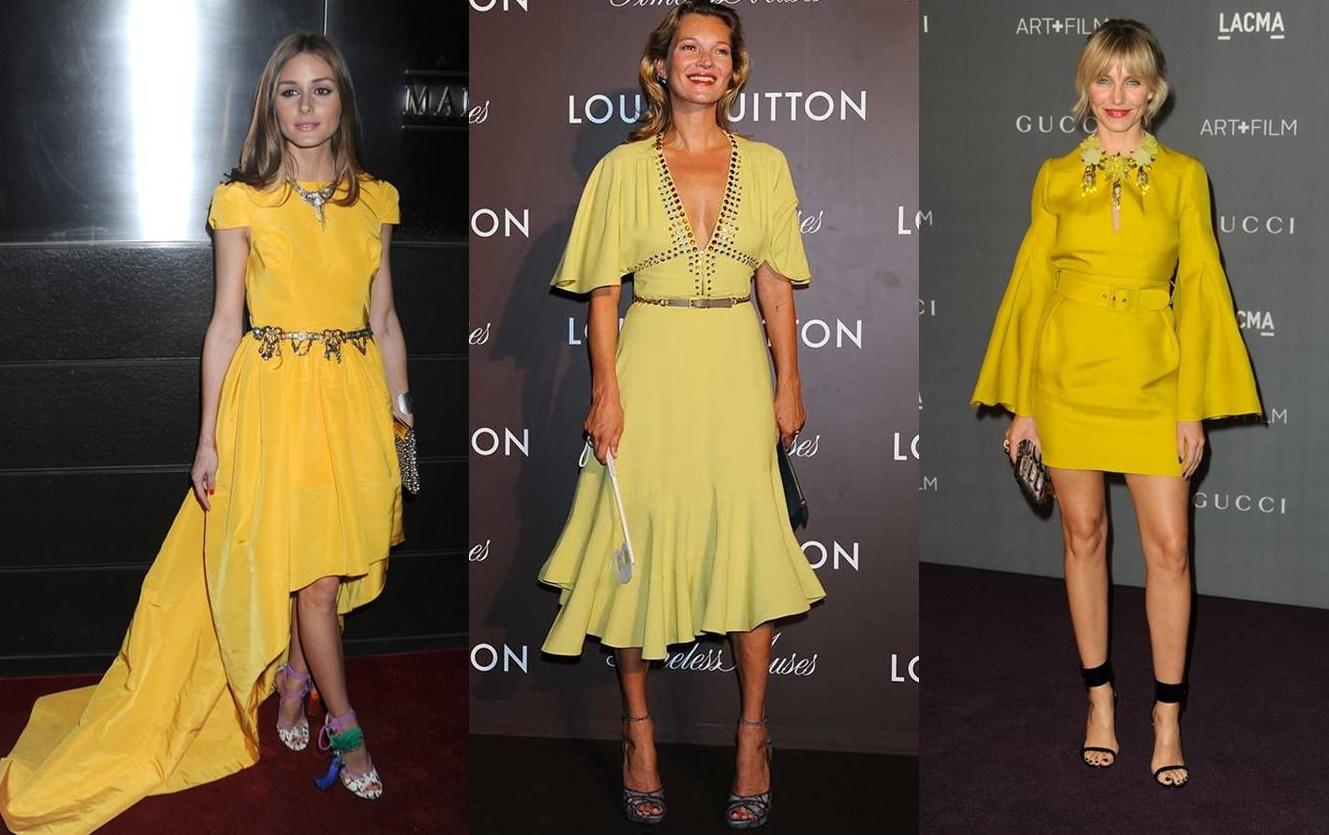 Abbinare gli abiti gialli