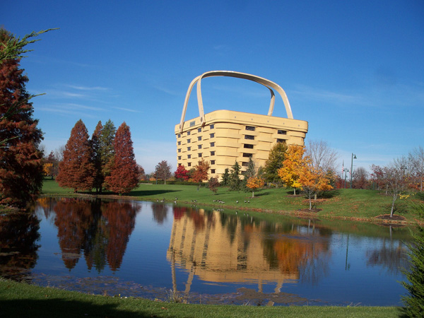 Basket Building è situata a Newark, in Ohio