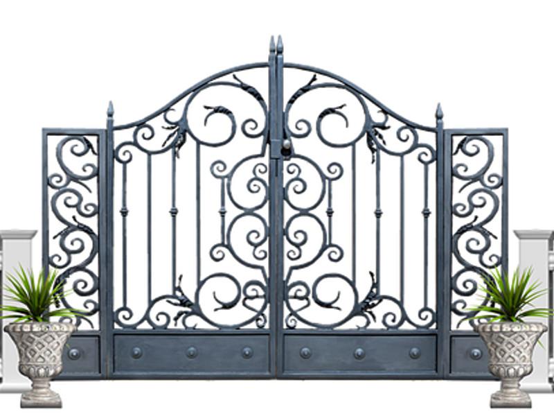 Come dipingere il cancello del giardino