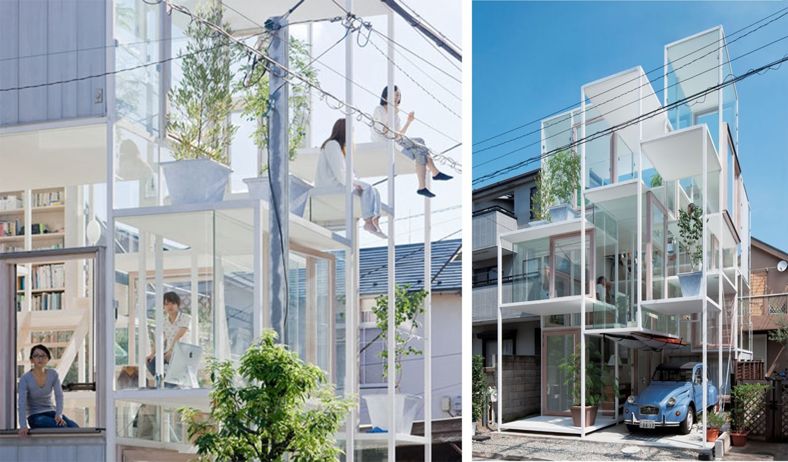 House NA in Tokyo, Japan by Sou Fujimoto
