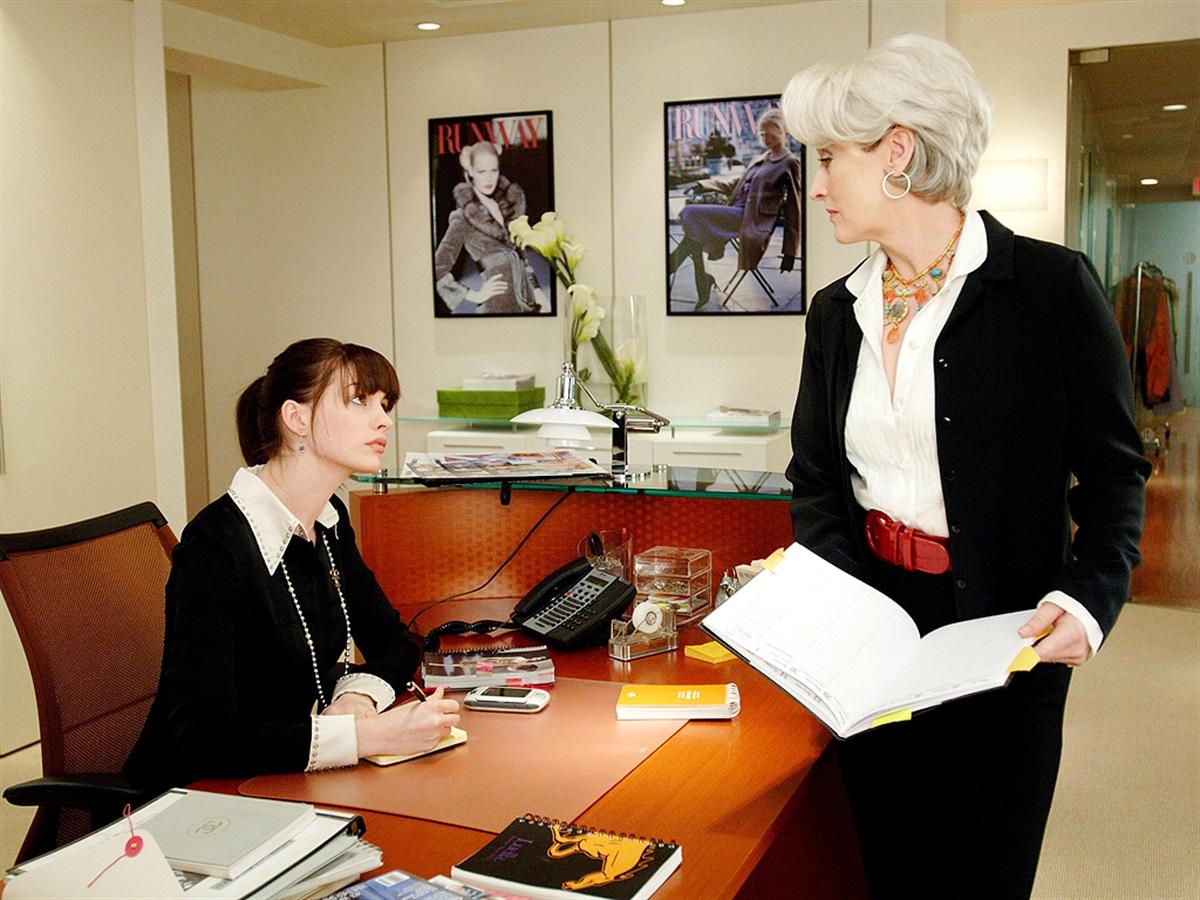 Meryl Street e Anne Hathaway
