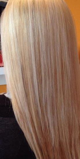 capelli decolorati instagram