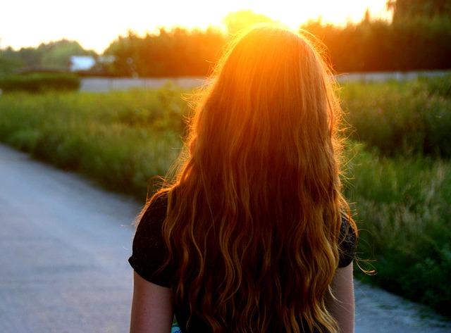 capelli lunghi estivi