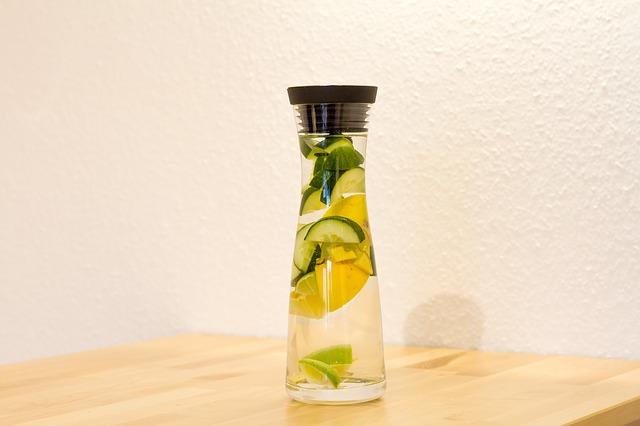 cetriolo zenzero limone