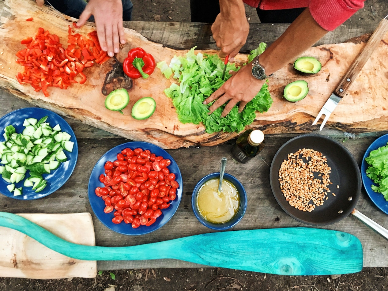 insalata e verdura