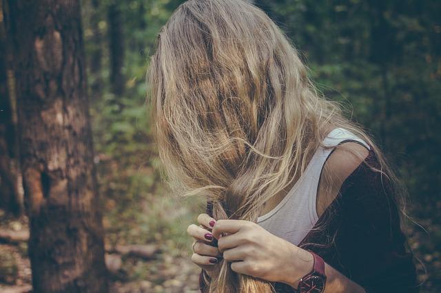 decolorati capelli