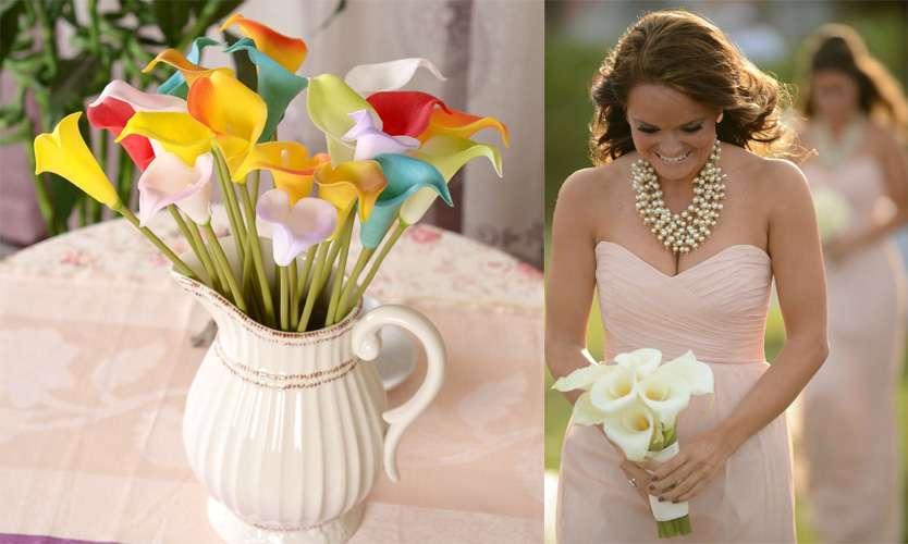 Bouquet da sposa con le calle: i più belli per il matrimonio [FOTO]