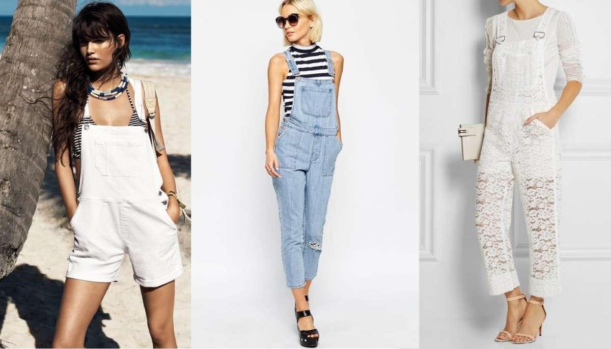 Tendenze moda per l'estate: il ritorno della salopette [FOTO]