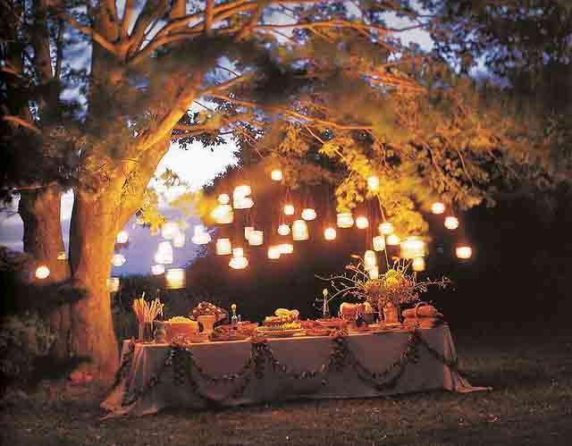 Decorazioni per una festa in giardino, i più creativi [FOTO]