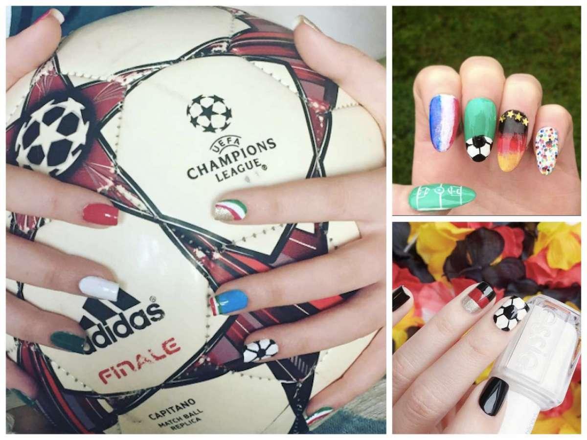 Nail art calcio: tutte le idee più belle da vere tifose [FOTO]