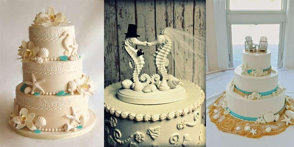 Torte nuziali a tema marino: le più belle per il matrimonio [FOTO]