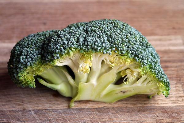Broccoli raccolto