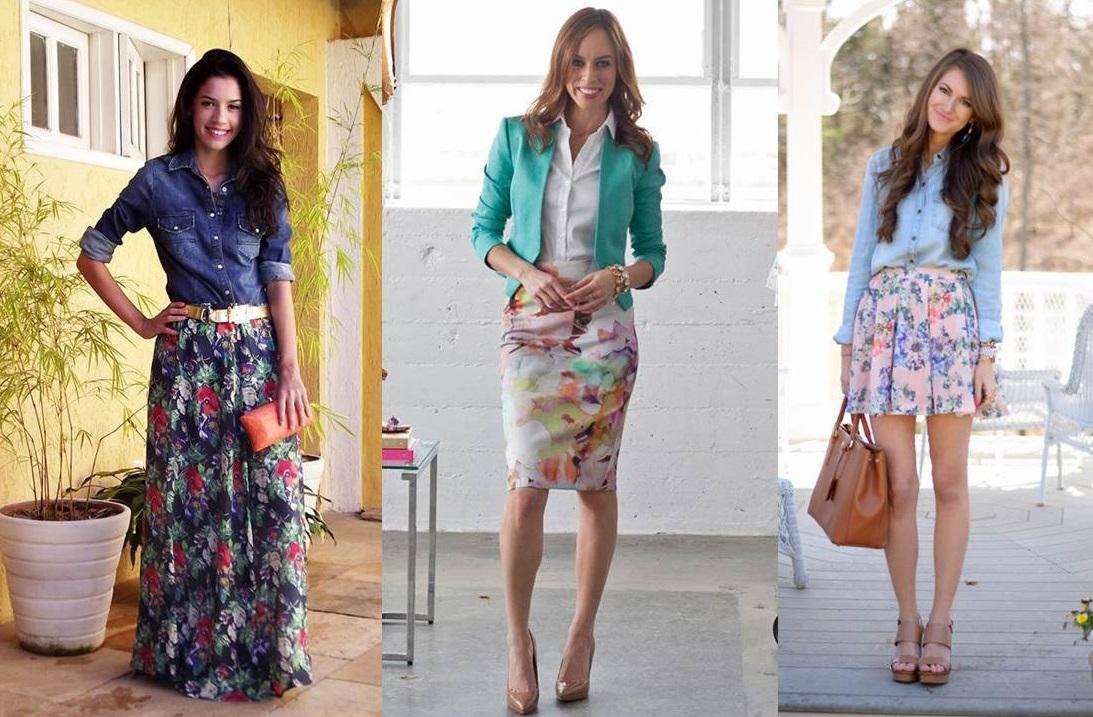 super popular d4758 081a5 Gonna a fiori: come abbinarla per look sempre fashion [FOTO ...