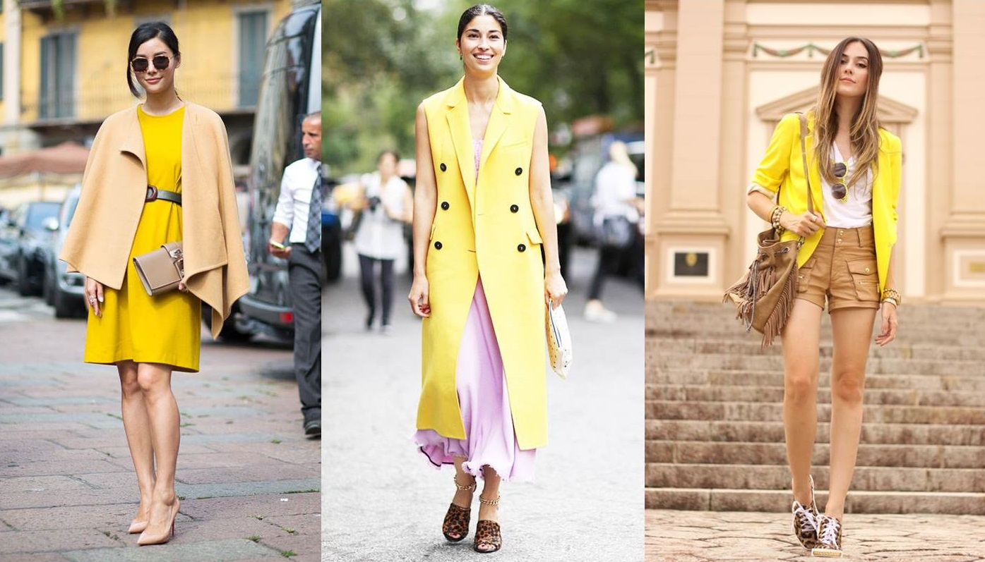 73519bc7e Come abbinare il giallo: consigli fashion per look di tendenza [FOTO ...