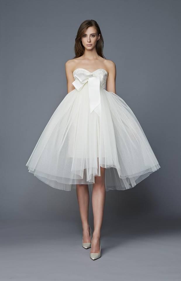 Minidress da sposa