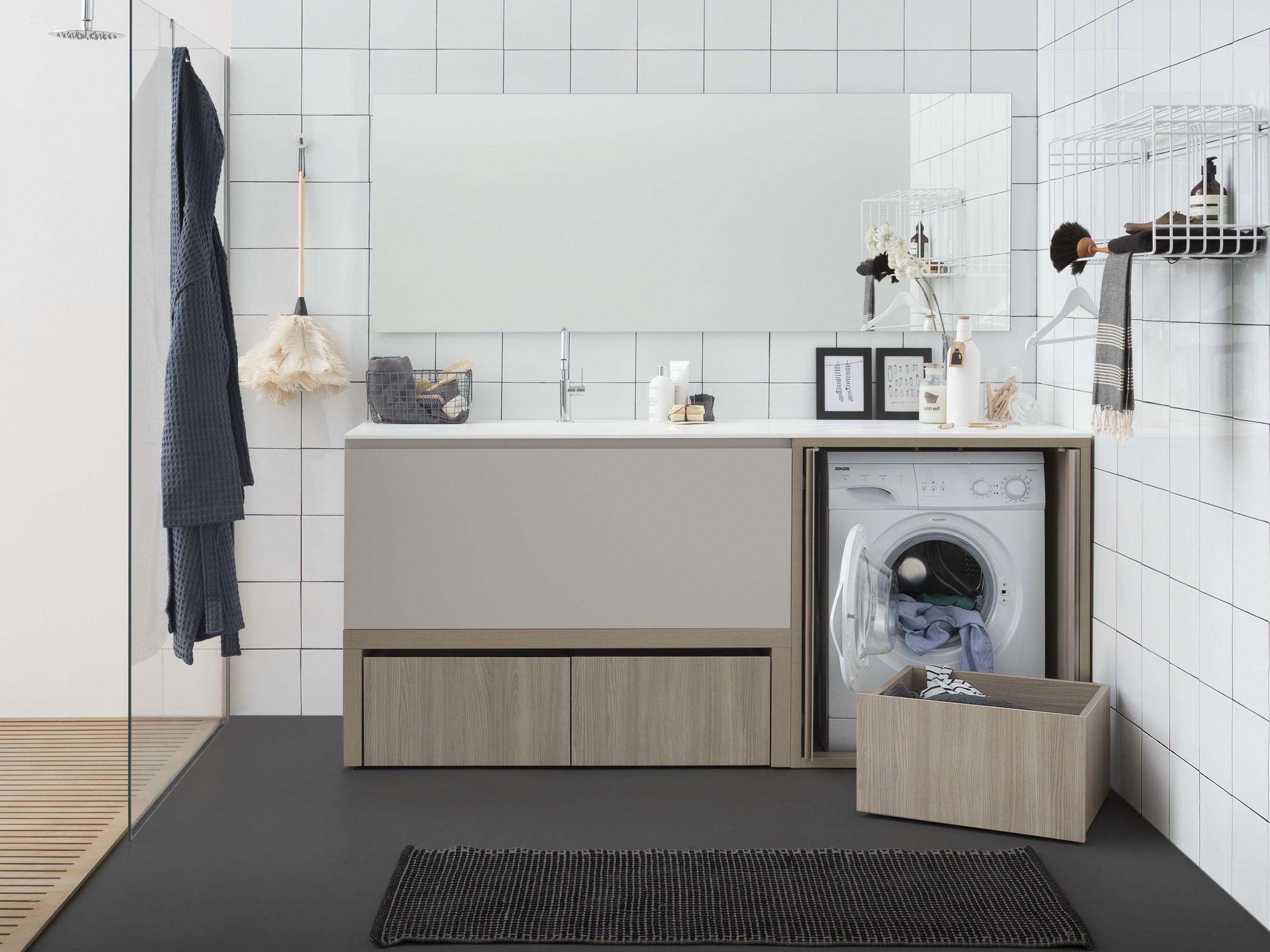 Mobile lavanderia con lavatoio Birex