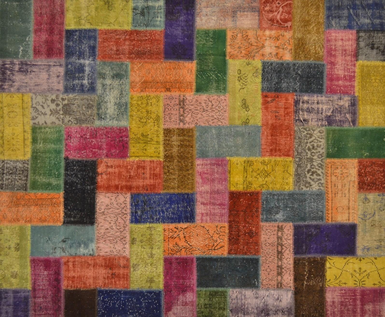 Tappeto patchwork su misura PATCHWORK MULTI SMALL Mohebban