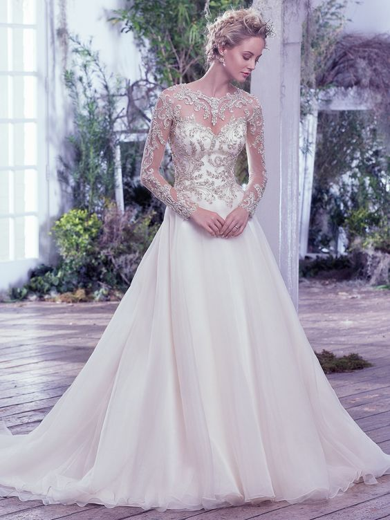 Vestito da sposa gioiello