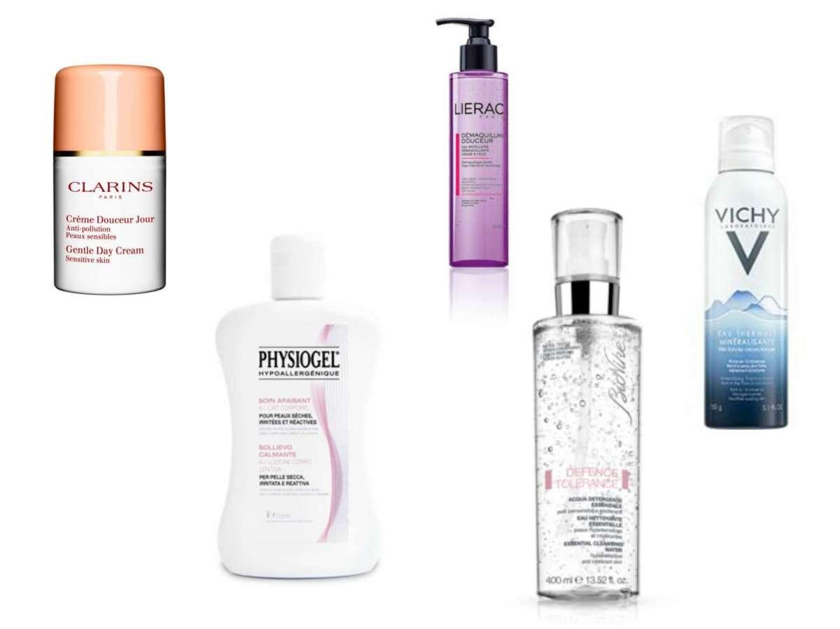 Pelle reattiva: i migliori prodotti cosmetici [FOTO]