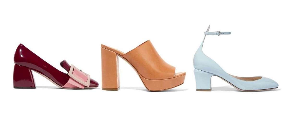 Scarpe estive con il tacco grosso: i modelli must have [FOTO]