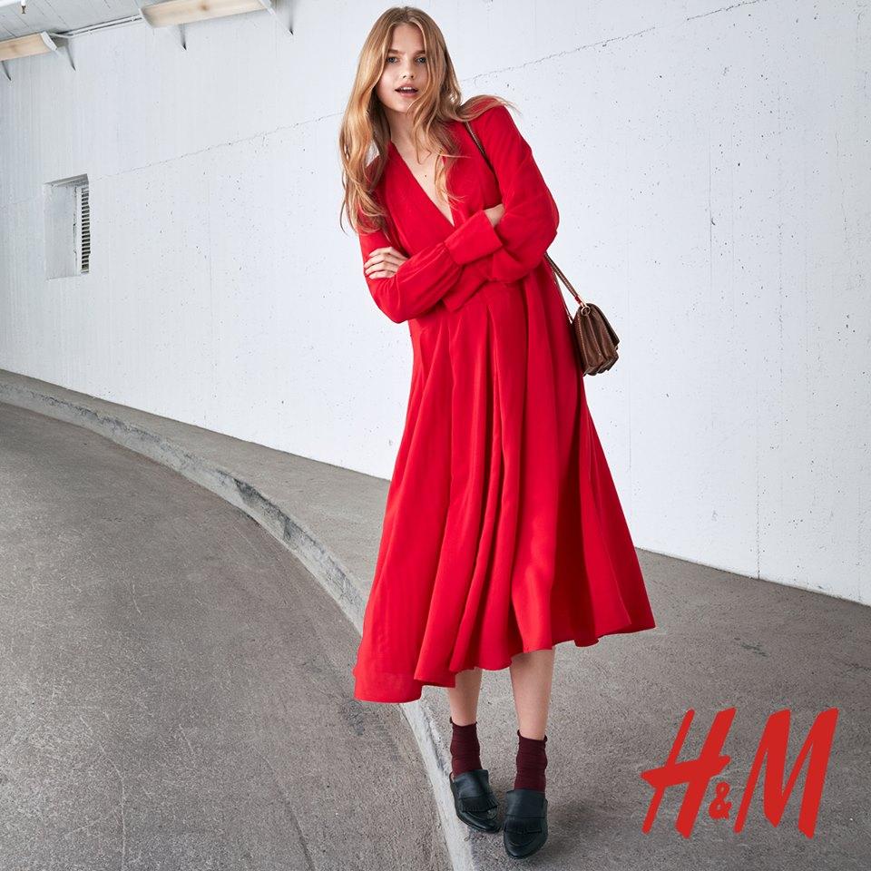 Abito rosso H&M