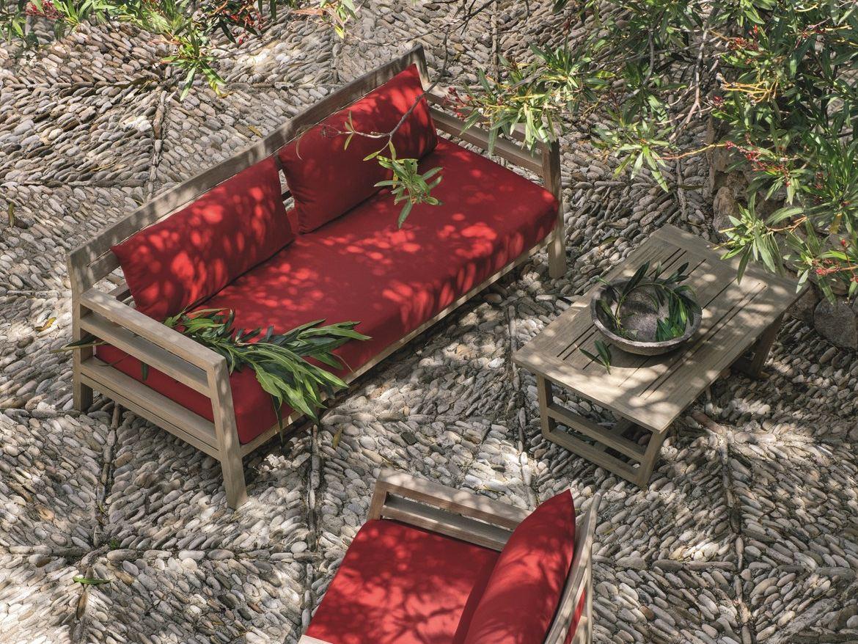 Mobili in legno idee per arredare la casa in stile naturale foto pourfemme - Divano da giardino ...