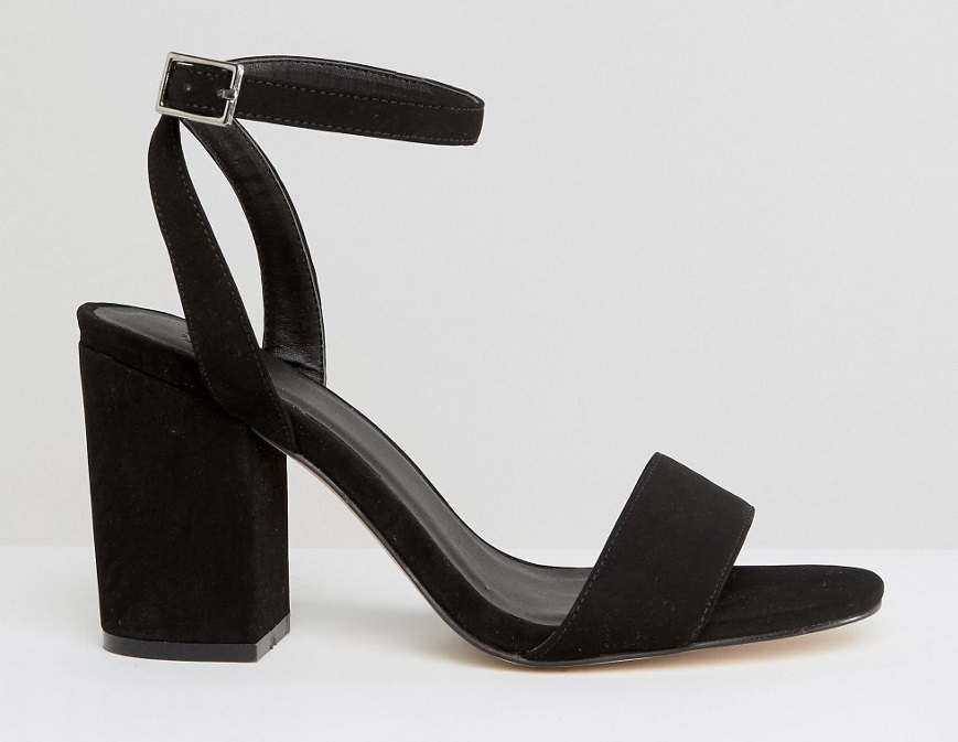 Sandali con tacco largo Asos