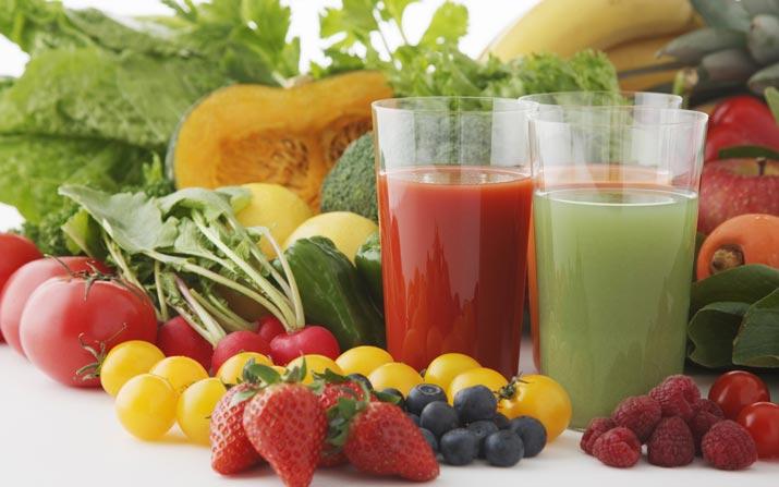 frutta e verdura abbronzatura