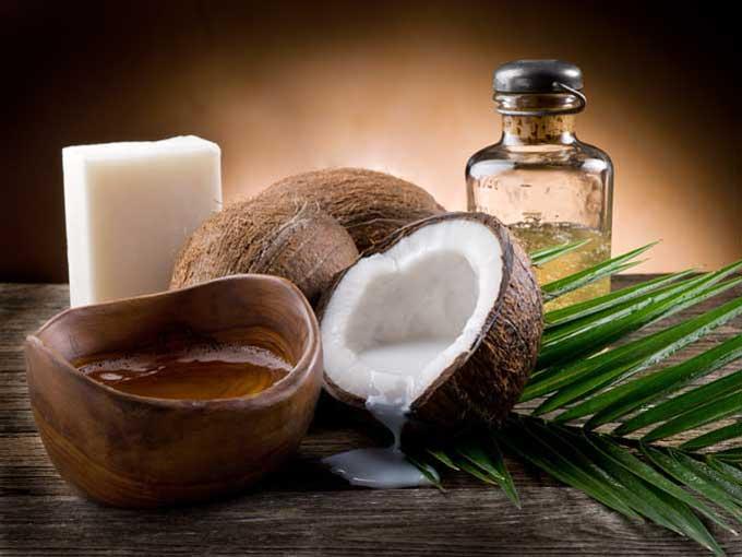 impacco olio di cocco