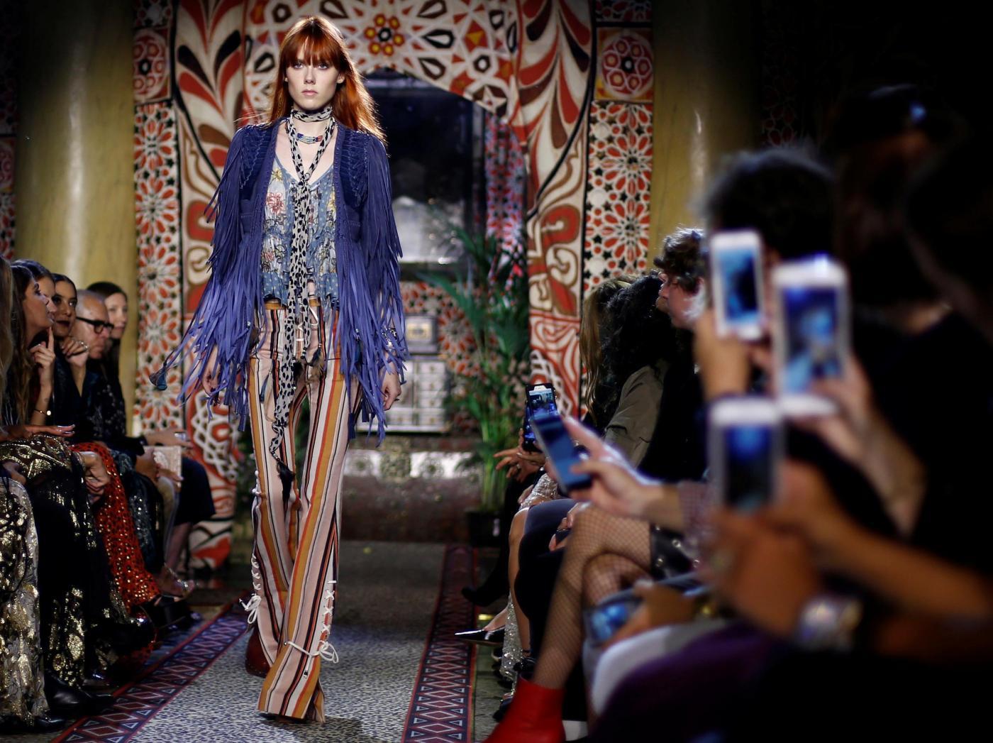 Roberto Cavalli presenta la sua collezione alla Milano Fashion Week