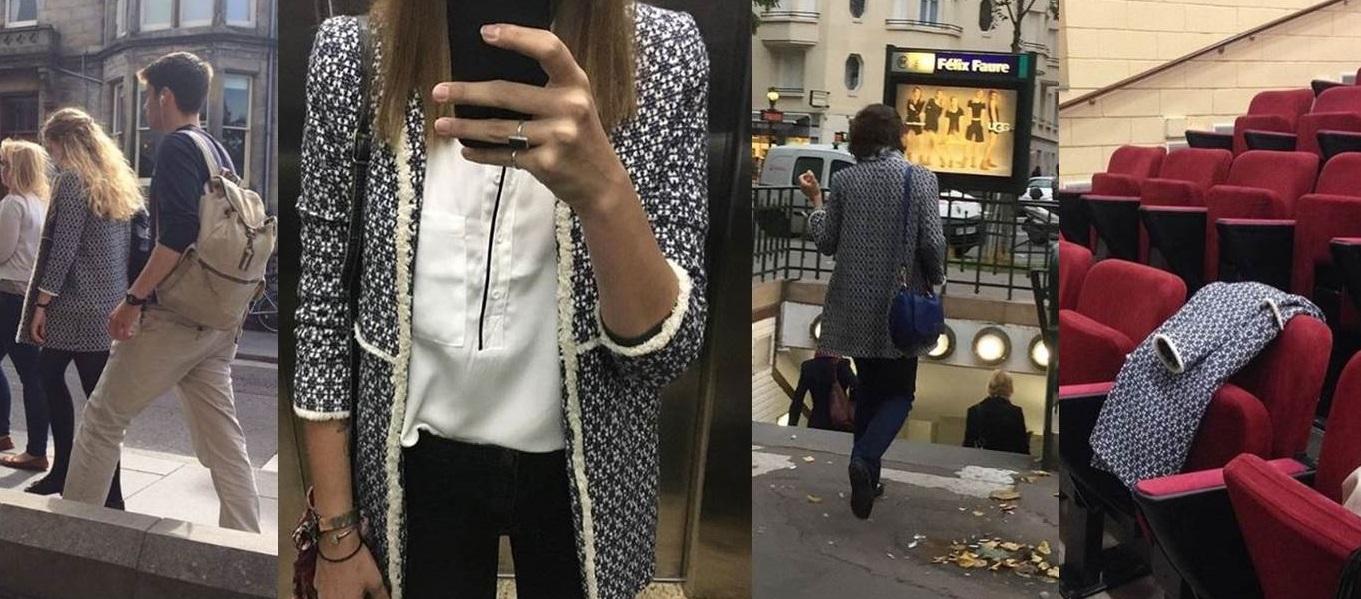 #ThatCoat, il cappotto Zara che sta spopolando a Londra