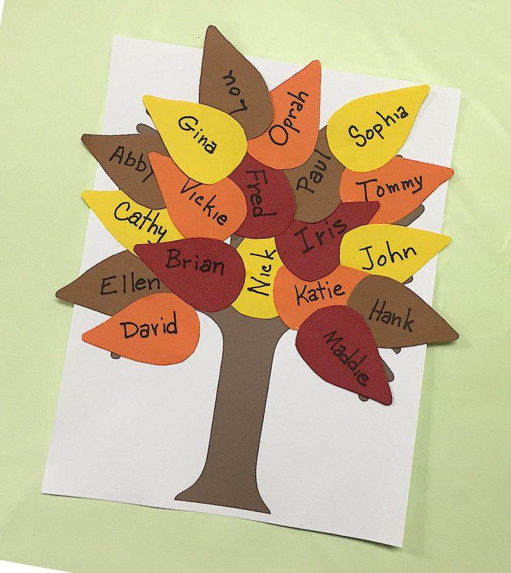 albero autunnale