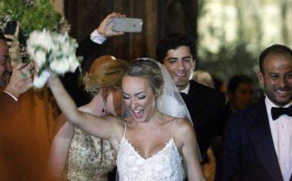 Cristel Carrisi e Davor Luksic si sono sposati: le foto del matrimonio