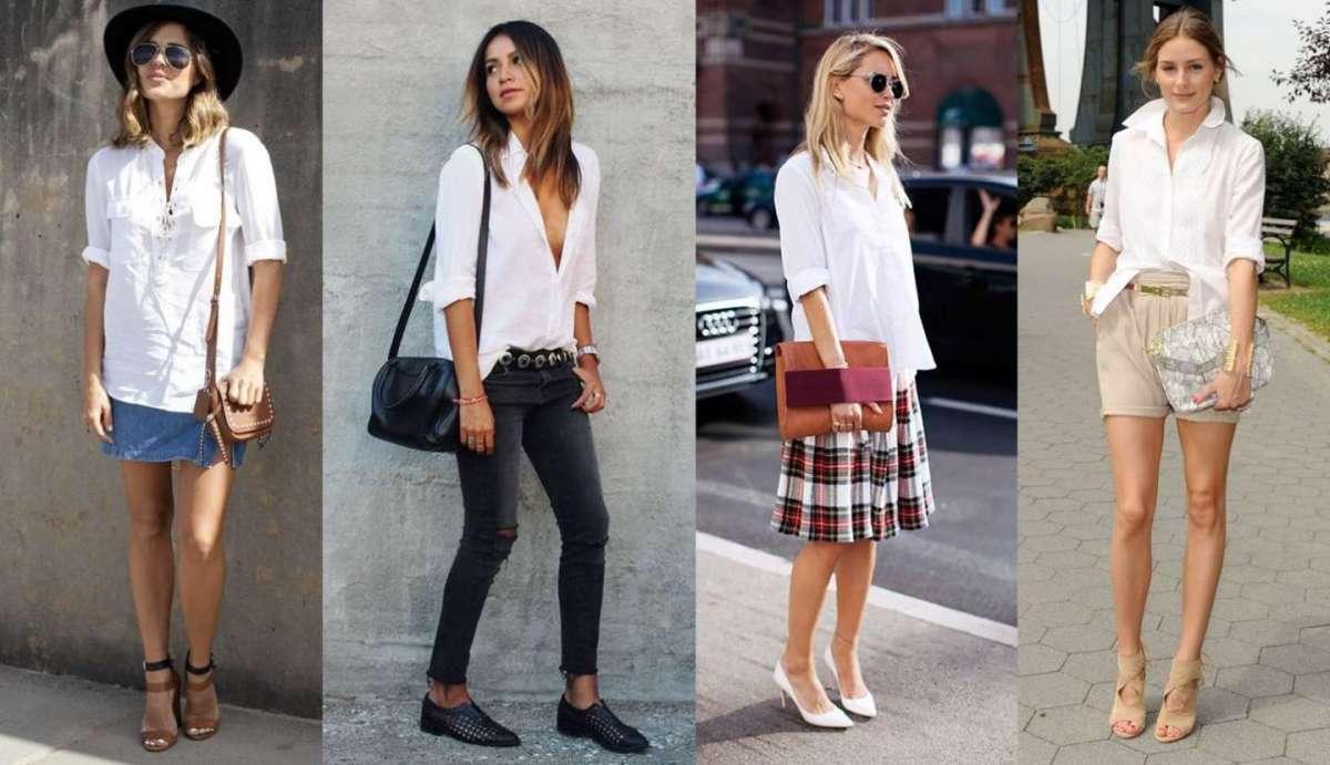 320bc5bb5ed5 Come abbinare la camicia bianca  consigli per look di tendenza  FOTO ...