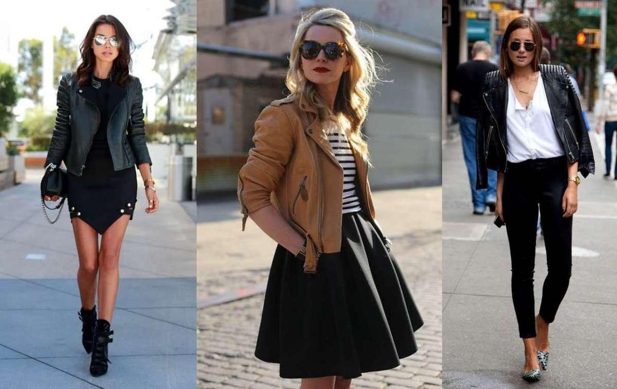 626461db4a Come abbinare la giacca di pelle: consigli per look di tendenza ...