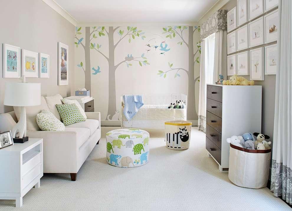 Arredare la cameretta del neonato: mobili e complementi da scegliere [FOTO]
