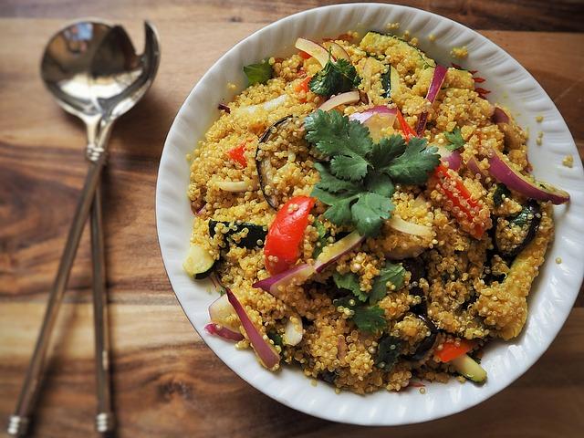 Quinoa: tre ricette per un piatto light e sfizioso