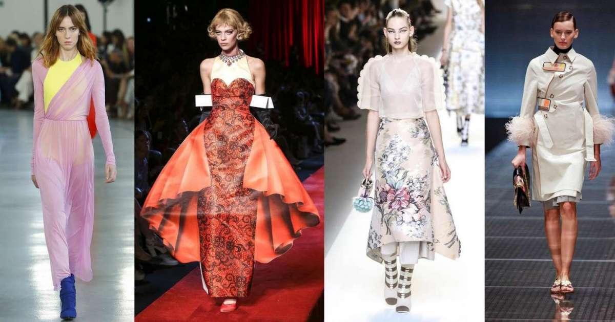 Le tendenze moda Primavera/Estate 2017 da Milano Moda Donna [FOTO]