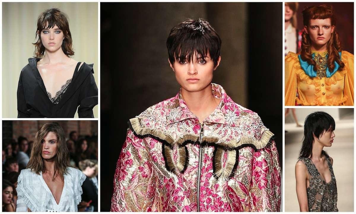 Tagli di capelli di tendenza per la Primavera/estate 2017 sulle passerelle di Milano Moda Donna [FOTO]