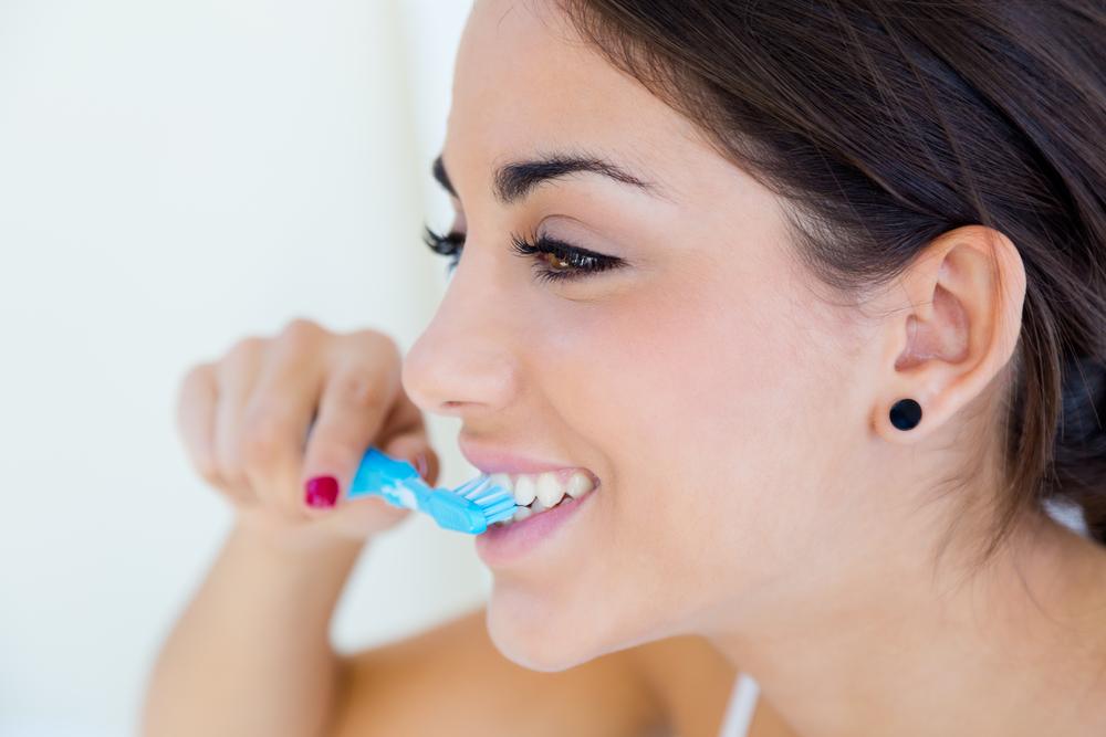 Lo spazzolino da denti