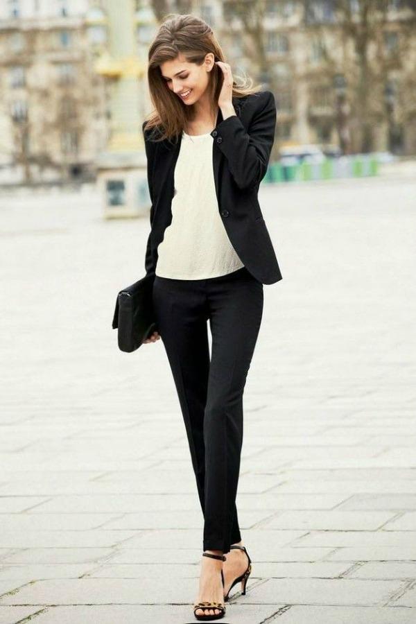 Look in black & white