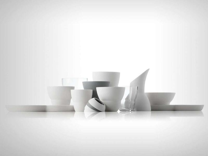 Quali servizi di piatti di design preferisci?
