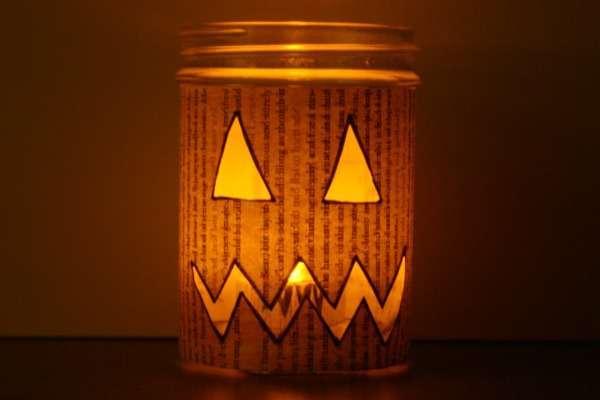 Barattolo per Halloween